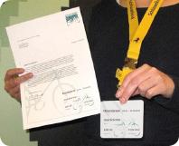 Mitgliedsausweis Drucken